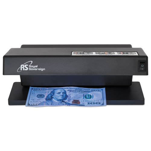 Ultraviolet Counterfeit Detector, U.S. Currency, 10.6 x 4.7 x 4.7, Black