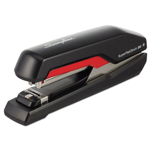 Rapid S17 Superflatclinch Full Strip Stapler 30 Sheet Capacity Black