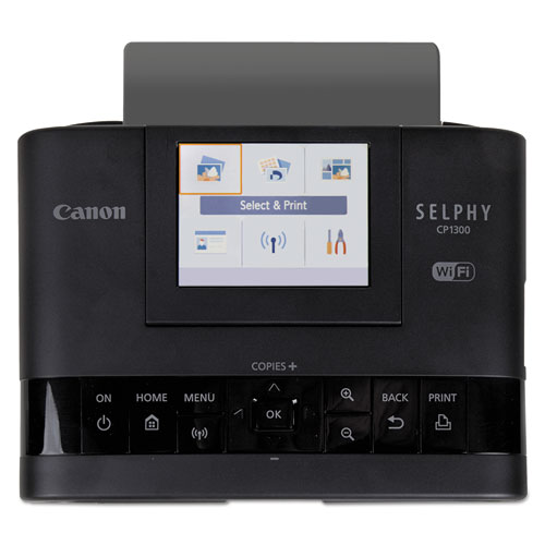 SELPHY CP1300 Wireless Compact Photo Printer, Black