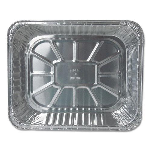 Aluminum Steam Table Pans, Half Size, Deep, 100/Carton