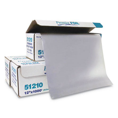 Standard Aluminum Foil Roll, 12 x 1,000 ft