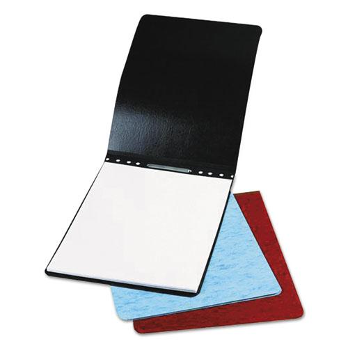 Presstex Report Cover, Top Bound, Prong Clip, Letter, 2 Cap, Black