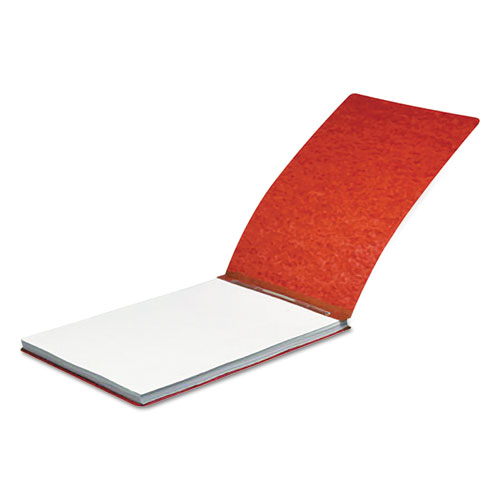 Pressboard Report Cover, Spring Clip, Letter, 2 Capacity, Earth Red