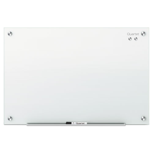 Infinity Magnetic Glass Marker Board, 72 x 48, White