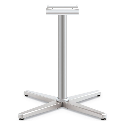 Arrange X-Leg Base for 42-48 Tops, 32w x 32d x 28h, Silver