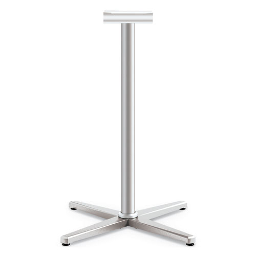 Arrange X-Leg Base for 42-48 Tops, 32w x 32d x 40h, Silver
