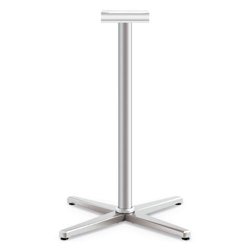 Arrange X-Leg Base for 42-48 Tops, 32w x 32d x 40h, Silver