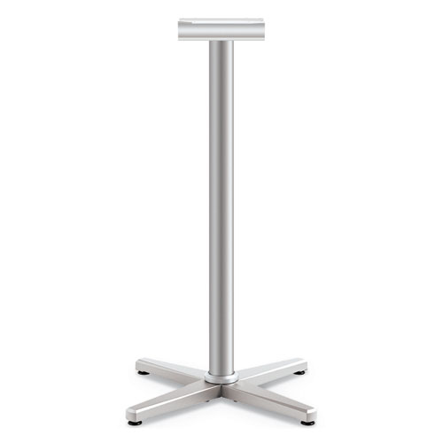 Arrange X-Leg Base for 30-36 Tops, 25.59w x 25.59d x 40h, Silver