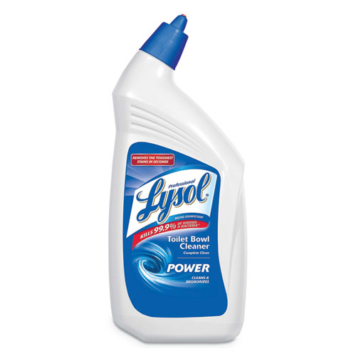 Professional LYSOL® Brand Disinfectant Toilet Bowl Cleaner, 32oz Bottle, 12/Carton
