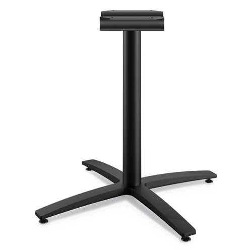 Between Seated-Height X-Base for 42 Table Tops, Black