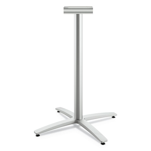 Between Standing-Height X-Base for 42 Table Tops, Silver