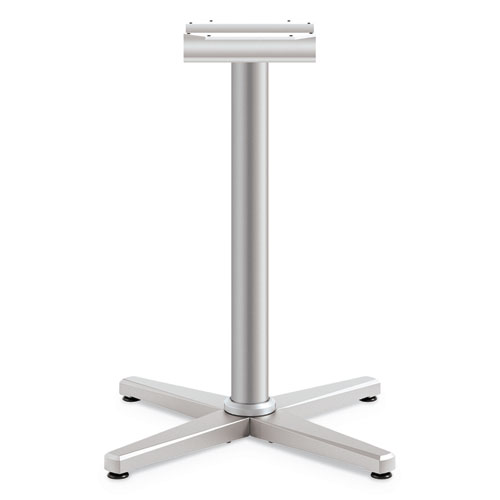 Arrange X-Leg Base for 30-36 Tops, 25.59w x 27.88h, Silver