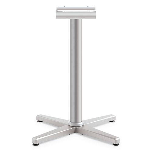 Arrange X-Leg Base for 30-36 Tops, 25.59w x 27.88h, Silver