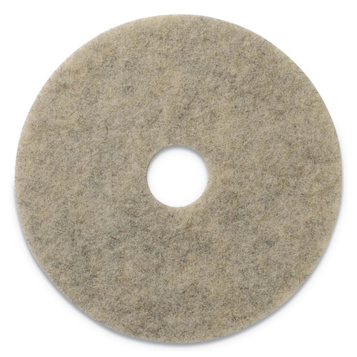"Americo® Porko Plus Burnishing Pads, 20"" Diameter, Grayish Black, 5/CT"