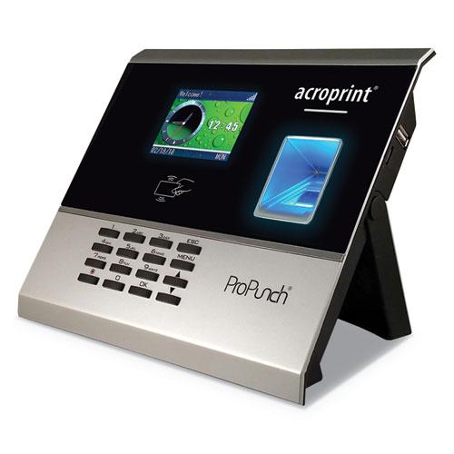 ProPunch Biometric Add-On Terminal, Automatic, 3000 Employees, Black