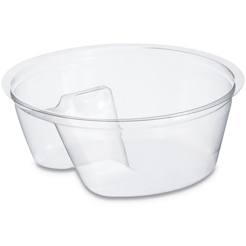 Single Compartment Cup Insert, 3 1/2 oz, Clear, 1000/Carton