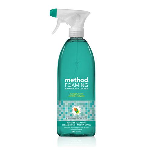 Tub N Tile Bathroom Cleaner, Eucalyptus Mint Scent, 28 oz Bottle, 8/Carton