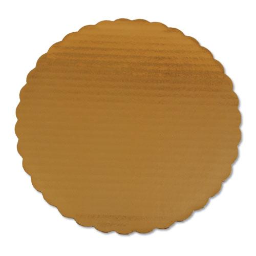 Cake Pads, 10 Dia, Gold, 200/Carton