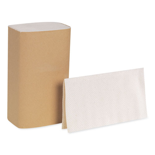Georgia Pacific® Professional Pacific Blue Basic S-Fold Paper Towels, 10 1/4x9 1/4, Brown, 250/Pack, 16 PK/CT