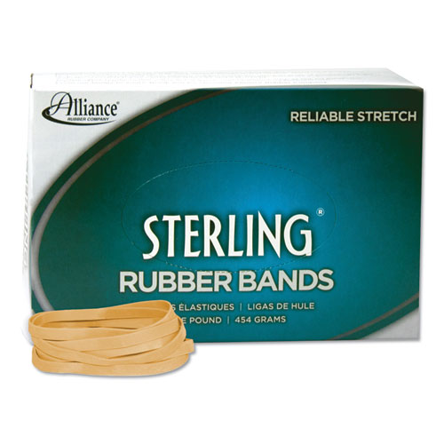 "Sterling Rubber Bands, Size 64, 0.03"" Gauge, Crepe, 1 lb Box, 425/Box 