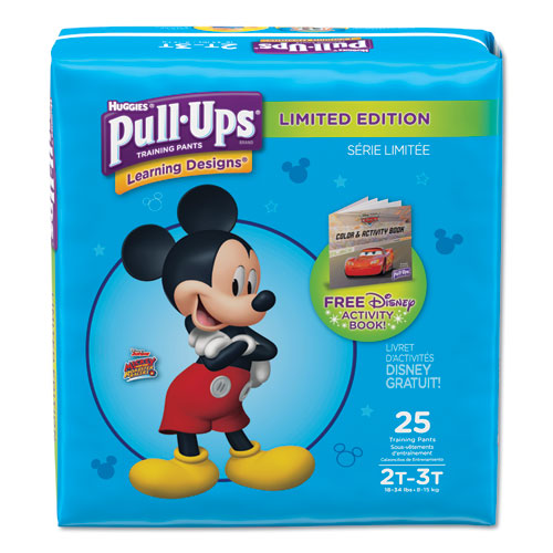 Huggies® Pull-Ups Learning Designs Potty Training Pants for Boys, Size 2T-3T, 25/Pack