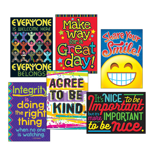 """ARGUS Poster Combo Pack, """"Kindness Matters"""", 13 3/8w x 19h"""