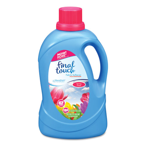 Fabric Softener, Spring Fresh Scent, 67 Loads, 134 oz Bottle