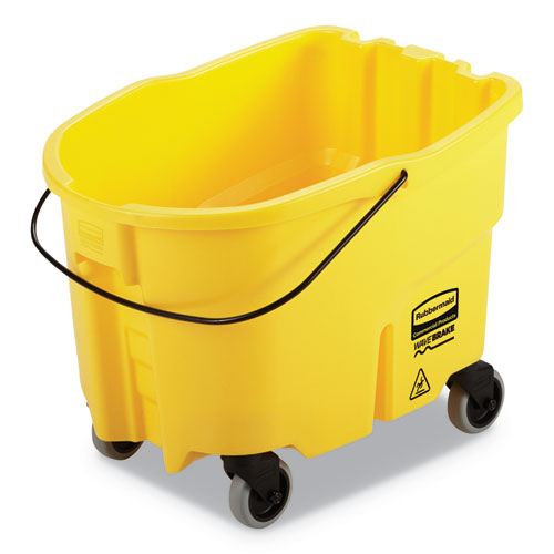 WaveBrake 2.0 Bucket, 26 qt, Plastic, Yellow
