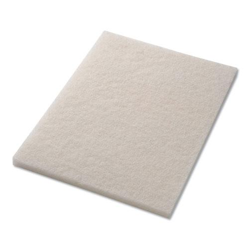 Polishing Pads, 14 x 20, White, 5/Carton