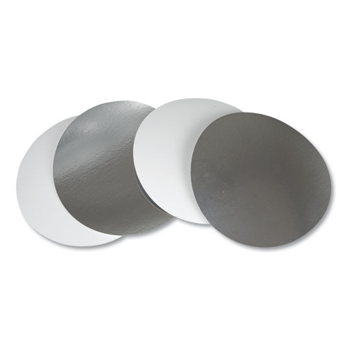 Flat Board Lids for 8 Round Containers, 500 /Carton