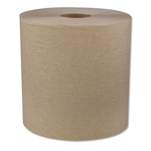 Hardwound Roll Towels, 1-Ply, 7.8 x 700 ft, 6/Carton