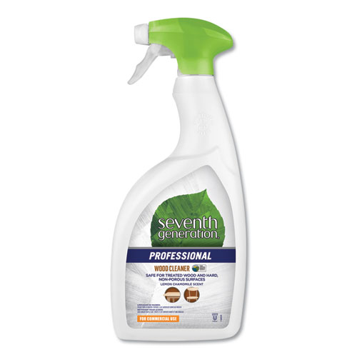 Wood Cleaner, Lemon Chamomile Scent, 32 oz Bottle