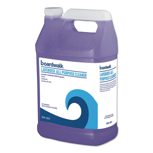 Boardwalk® All Purpose Cleaner, Lavender Scent, 1 gal Bottle, 4/Carton