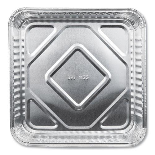 Aluminum Square Cake Pans, 8 x 8, 500/Carton