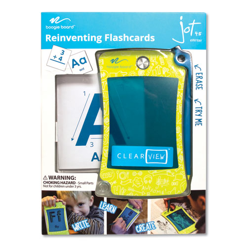 Jot 4.5 Clearview, 2.5 x 3.5 Screen, Flourescent/Green/Yellow