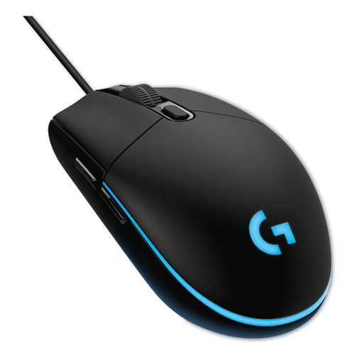 Logitech® G203 Prodigy Gaming Mouse, USB 2.0, Right Hand Use, Black