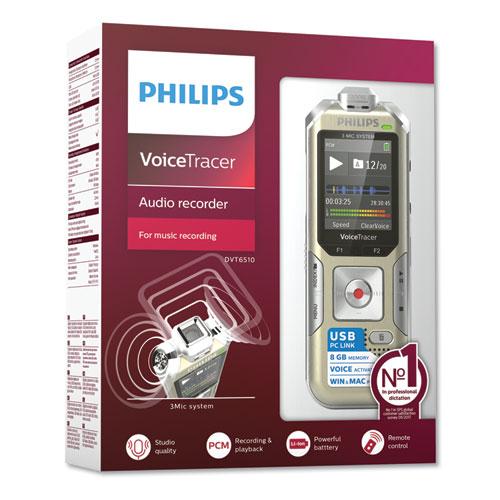 Voice Tracer 6500 Digital Recorder, 8 GB