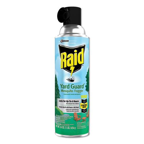 Raid® Yard Guard Fogger, 16 oz, Aerosol, 12/Carton