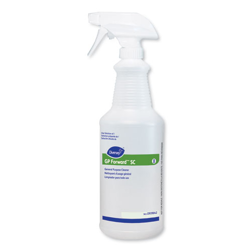 GP Forward SC General Purpose Cleaner Empty Bottle, 32 oz, Clear, 12/Carton