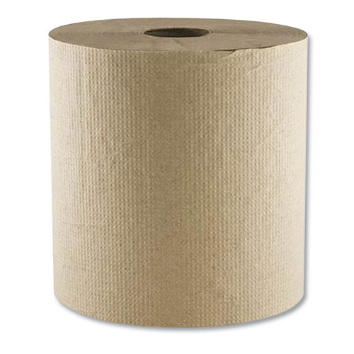 """Morcon Tissue Morsoft Universal Roll Towels, 7.88"""" x 300 ft, Brown, 12/Carton"""