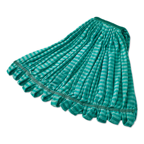Microfiber Tube Wet Mop, Microfiber, 1 Headband, Green