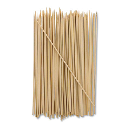 Bamboo Skewer, Cream, 8, 19200/Carton