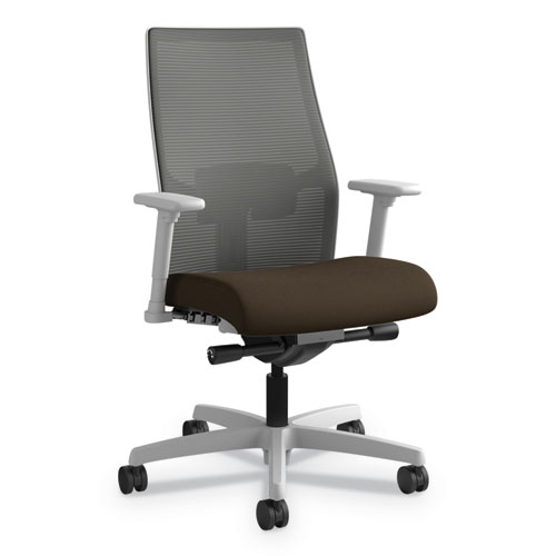 HON® Ignition 2.0 Ilira Stretch Low Back Mesh Task Chair, Black Fabric