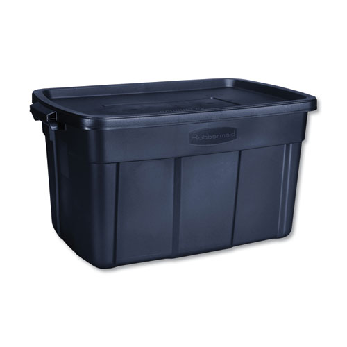 Roughneck Storage Box, 20 2/5w x 32 3/10d x 16 7/10h, Dark Indigo Metallic
