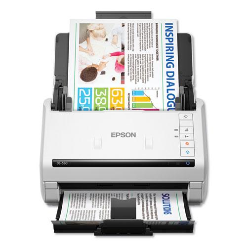 DS-530 Color Document Scanner, 300 dpi Optical Resolution, 50-Sheet Duplex Auto Document Feeder