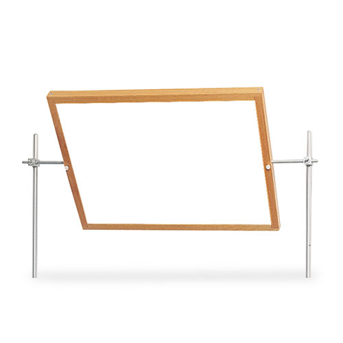 Optional Mirror/Markerboard for Mobile Tables, 27.75w x 1.5d x 20.75h, Mirror