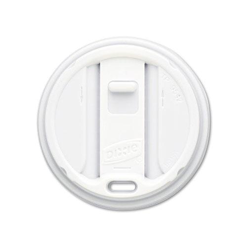 Smart Top Reclosable Cup Lids, Fits 20, 24oz Cups, White, 100/Bag, 10 Bags/CT TP9550