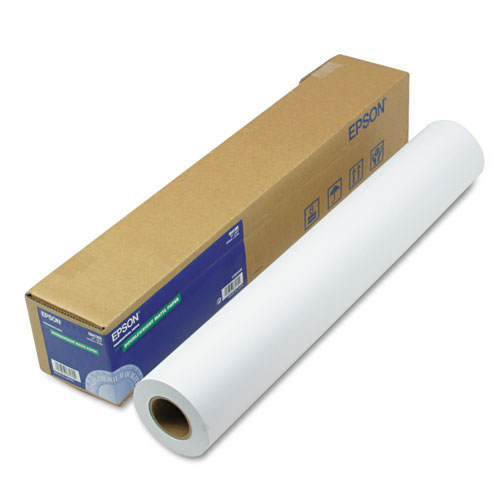 Doubleweight Matte Paper, 24in. x 82 ft, White S041385