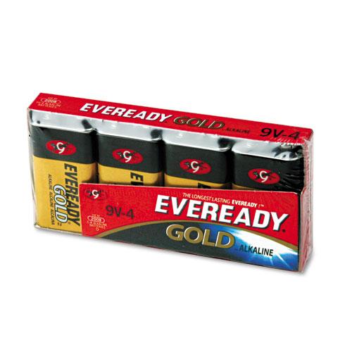Eveready® Gold 9V Batteries, 4/Pack