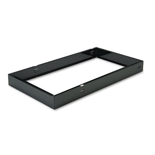 Bankers Box Metal Bases for Staxonsteel  High-Stak Files, Letter, Black